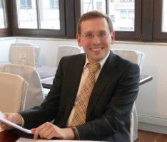 Leimener FDP-Vorsitzender Alexander Hahn zu Besuch beim Jugendgemeinderat