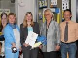 Vom Maimarkt ins Leimener Rathaus  Claudia Felden – Bürgermeisterin Leimens –  mit Theodor-Heuss-Medaille geehrt