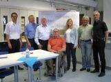 Besuch der Kreistagsfraktion an der Carl-Theodor-Schule in Schwetzingen