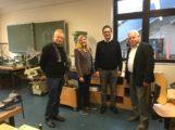 FDP-Kreistagsfraktion vor Ort: Steinsbergschule in Sinsheim