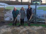 Spatenstich für die AVR Biomethangas-Aufbereitungsanlage in Sinsheim