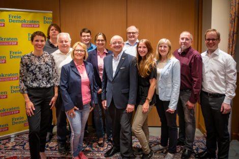 FDP Kreisparteitag: Vorstand wiedergewählt – Generalsekretärin informiert