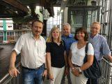FDP-Kreistagsfraktion vor Ort: </br>Schwebebahn-Perspektiven für den ÖPNV