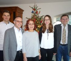 Vier auf einen Streich – FDP Vorsitzender begrüßt vier neue Mitglieder