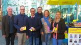Polit-Talk auf dem Georgi-Marktplatz – </br>MdB Dr. Jens Brandenburg im Bürgerdialog