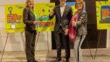 Neumitglied und Kandidat Lukas Gehrig auf dem Bundesparteitag in Berlin.