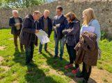 FDP Kreistagsfraktion besuchte Ruine Schauenburg in Dossenheim