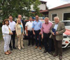 FDP vor Ort: Integrierte Leitstelle Rhein-Neckar in Ladenburg