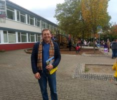 Zu Besuch beim Herbstfest der Geschwister-Scholl-Schule