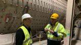 Zement und Beton sind unverzichtbar – MdB Brandenburg besichtigte Zementwerk  Leimen