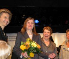 Jüngst feierte Claudia Felden ihren 60. Geburtstag.