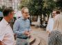 Stadtrundgang der FDP-Fraktion mit MdB Dr. Jens Brandenburg